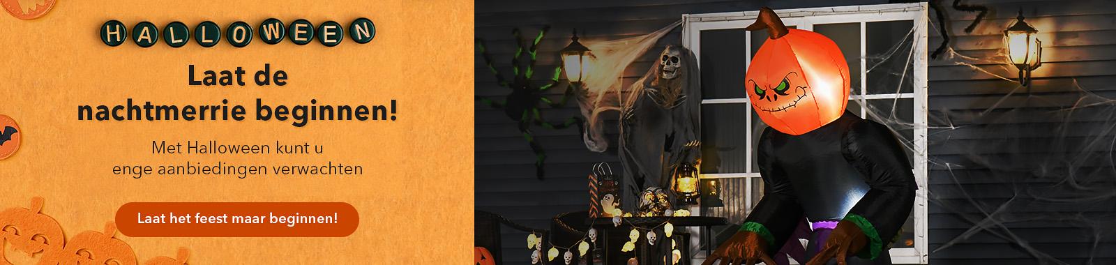 Laat de nachtmerrie beginnen! Met Halloween kunt u enge aanbiedingen verwachten.