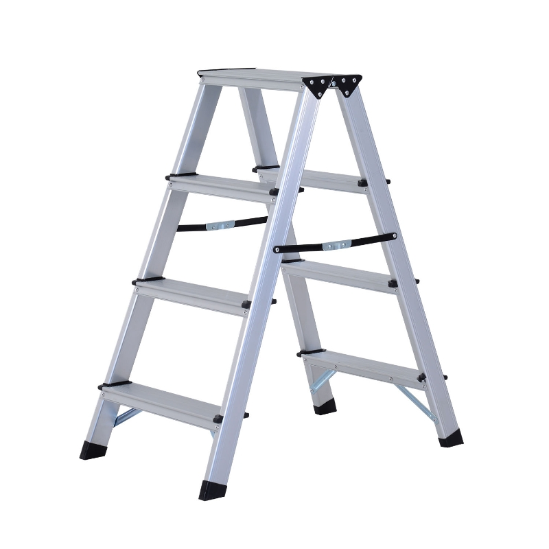 aluminium trapladder trapladder opvouwbare trap dubbele ladder huishoudelijke ladder 3-5 treden