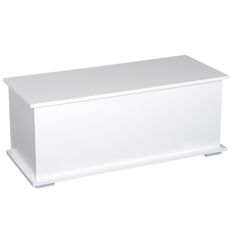 kist met scharnierdeksel opbergkist houten kist spaanplaat 3 kleuren
