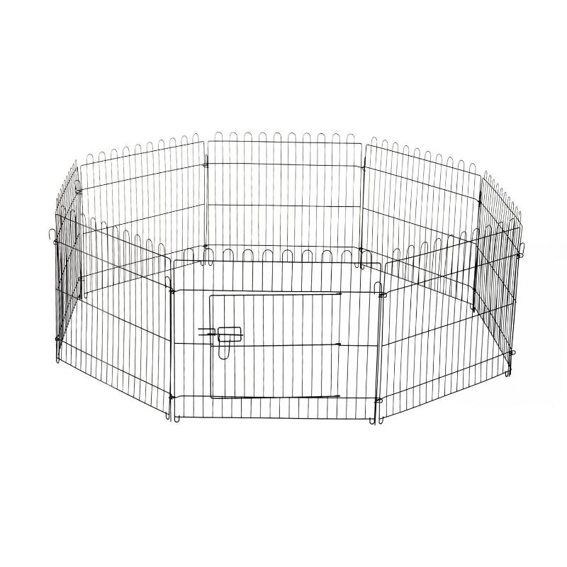 PawHut puppy-uitloop puppyhek box buiten behuizing puppyhek 5 maten