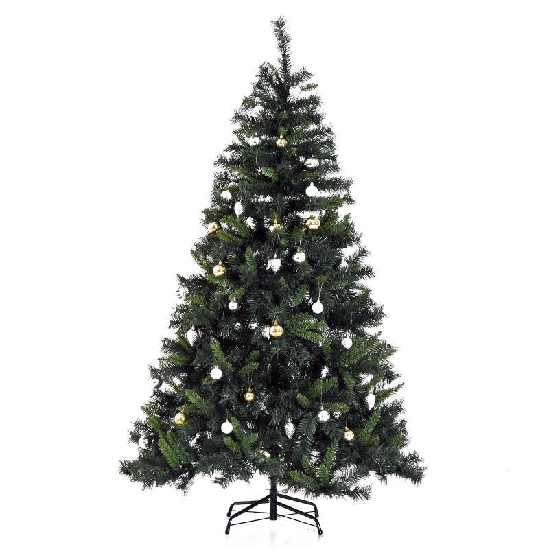 kerstboom dennenboom kerstboom met LED's glasvezelboom ster 8 model