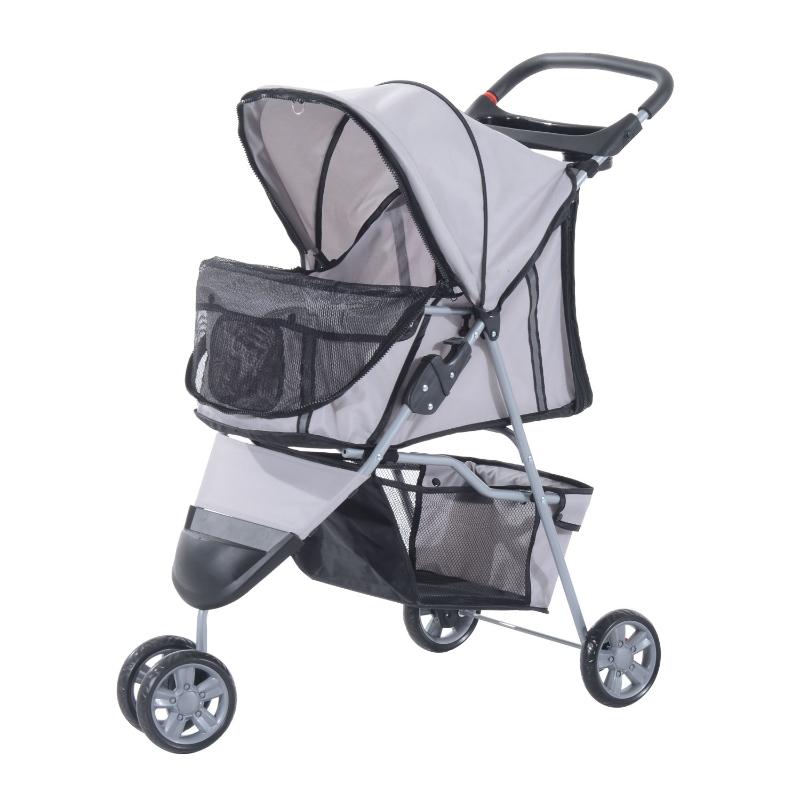 hondenwagen hondenbuggy honden pet stroller buggy 4 kleuren 3/4 wielen