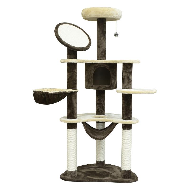 Krabpaal kattenboom krabpaal voor katten kat klimboom sisal pilaren