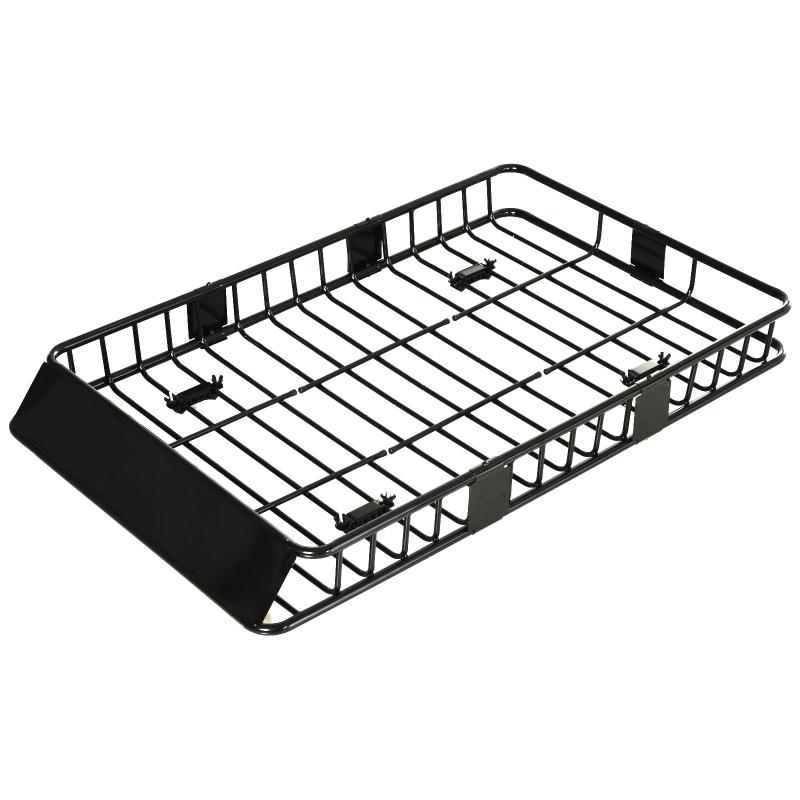Dakkoffer autodakdrager dakbagagedrager universele bagagemand metaal zwart
