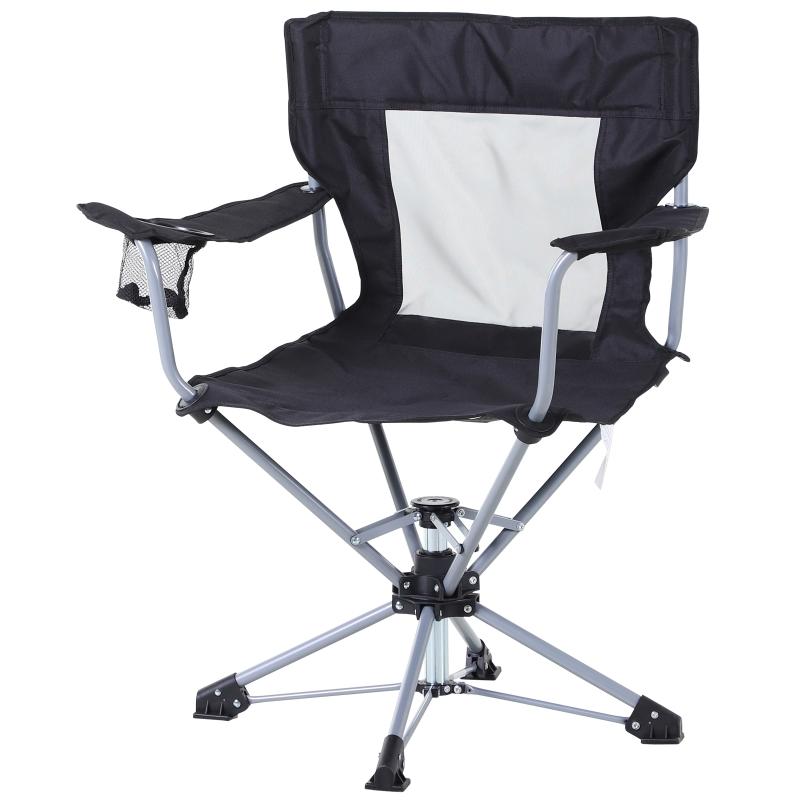 visstoel klapstoel campingstoel armsteun en bekerhouder draagtas Oxford