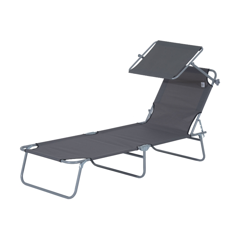 ligstoel ligbank voor buiten ligstoel voor op het strand inklapbaar met zonnedak 3 kleuren