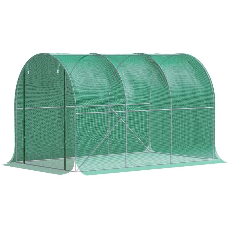 Polytunnelkas plantafdekking vorstbescherming polyethyleen bescherming