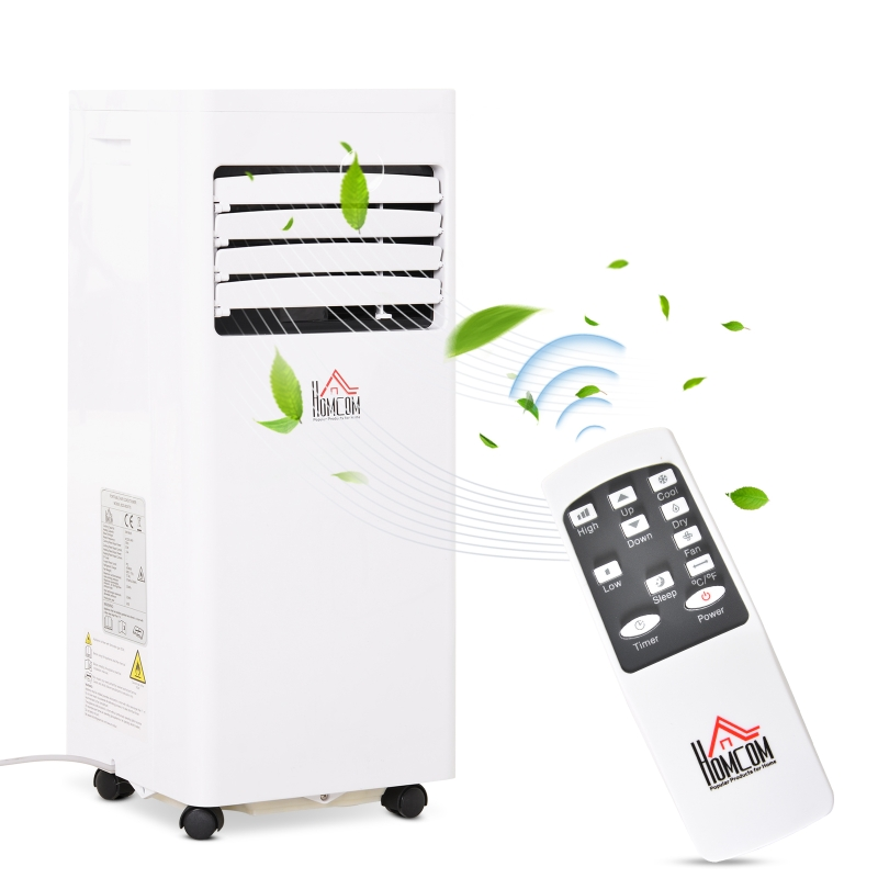 Mobiele airconditioning 3-in-1 airconditioner ontvochtiger 1,5 kW afstandsbediening ABS