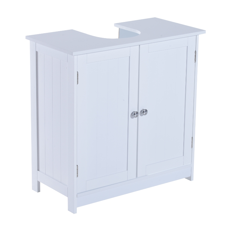 Wastafelonderkast badkamerkast badkamermeubel wastafel onderkast wit