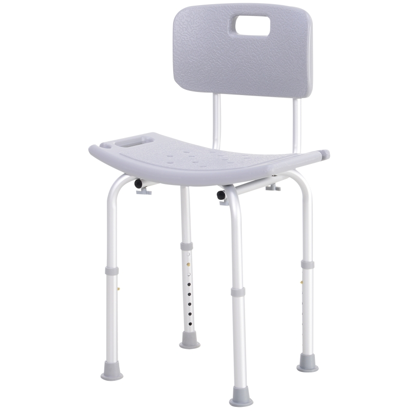 Douchekruk met rugleuning douchestoel badkruk badstoel 2 modellen