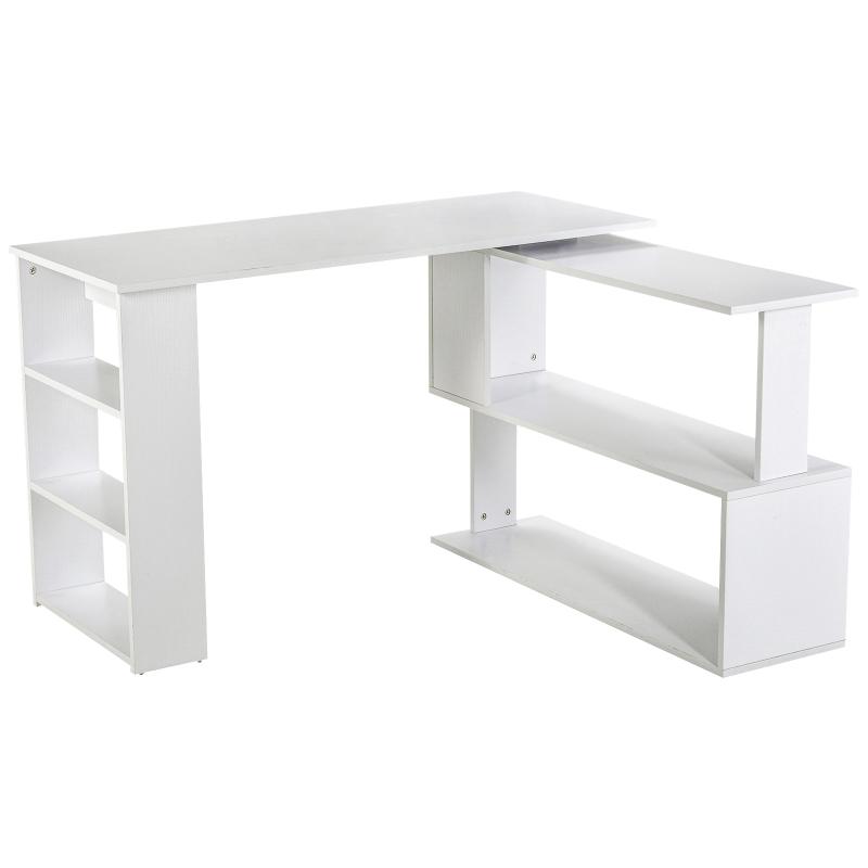 computertafel hoekcombinatie hoekschrijftafel kantoortafel kastje werktafel
