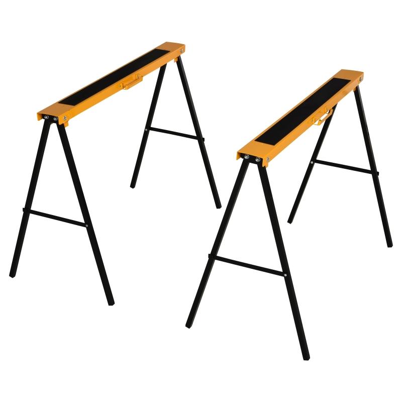 Werkbok zaagpaard kriksteun slipvast staal belastbaarheid 125 kg