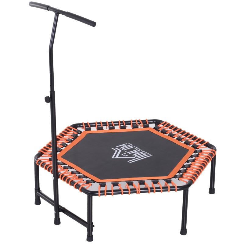 Fitnesstrampoline trampoline tuintrampoline voor yoga 121,92 x 121,92 x 138cm