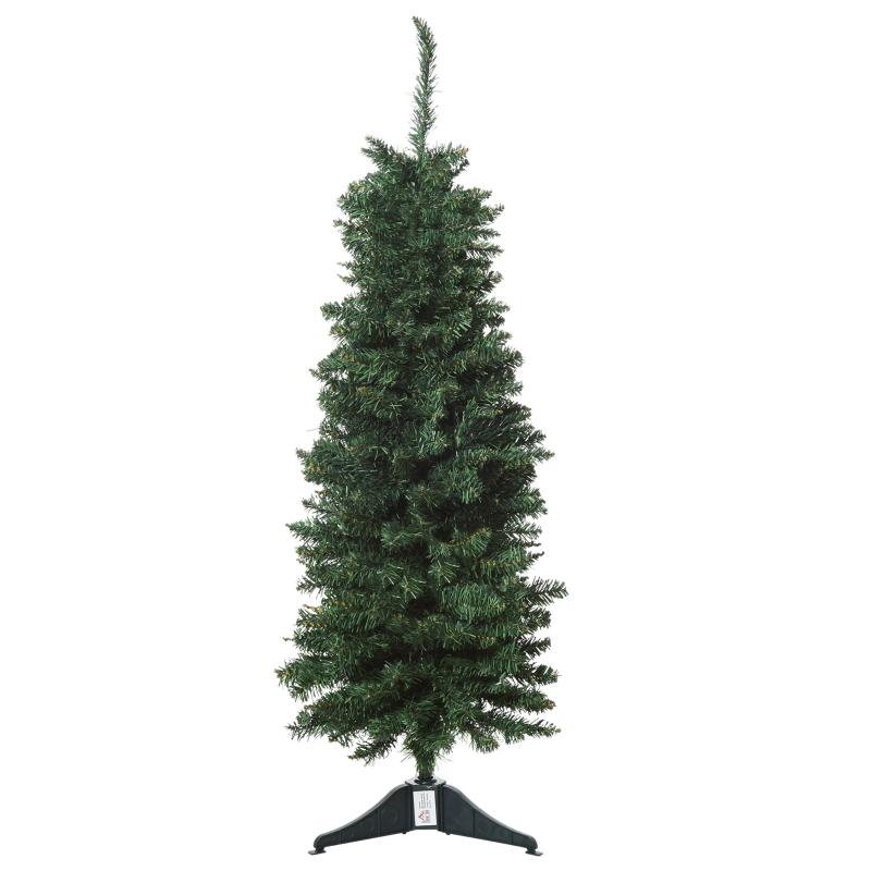 kunstkerstboom 1,2 m kerstboom dennenboom 212 takken PVC groen