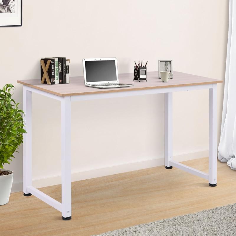 Bureau computertafel bureau zwart/wit