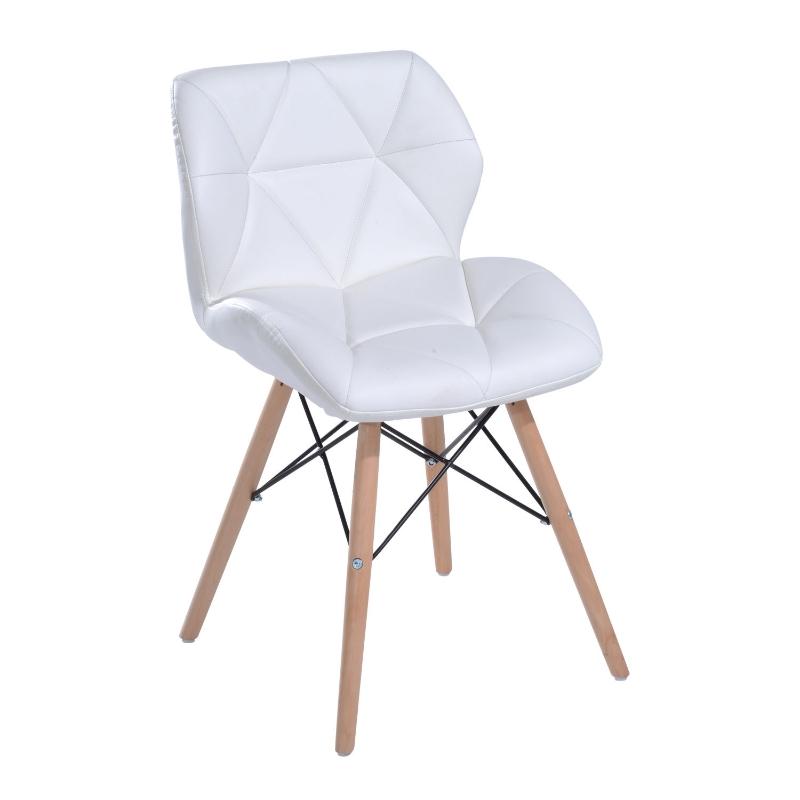 eetkamerstoel woonkamer stoel keukentafel eettafel kruk bureaustoel hout wit