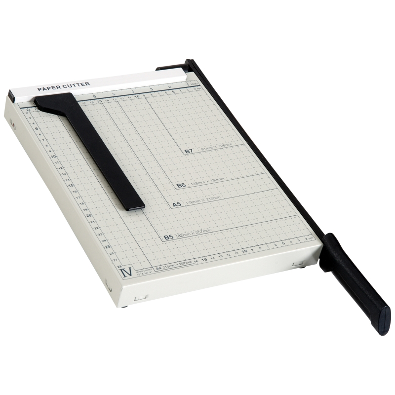 Papiersnijmachine tot A4 papiersnijder metaal wit