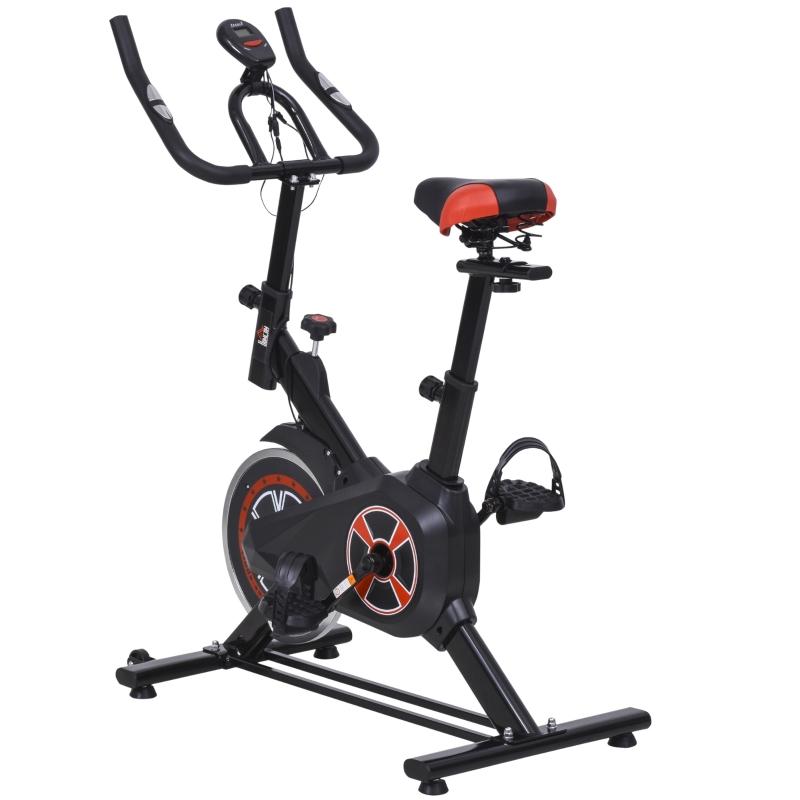 Indoor fietstrainer fitness fiets traploze weerstand homegym staal