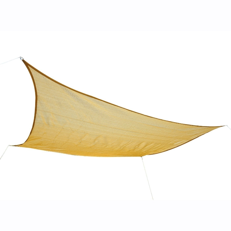 Zonnedoek bescherming tegen de zon zonnedak driehoek rechthoek vierkant 2 stofsoort 5 kleuren