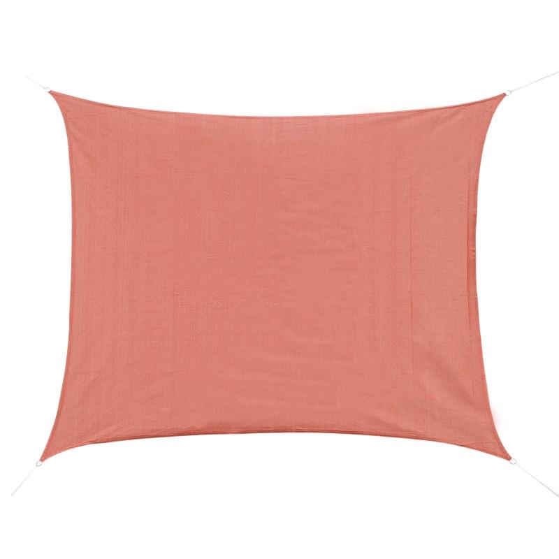 Zonnedoek zonwering zonnedak driehoek rechthoek vierkant 2 stofsoort 5 kleuren