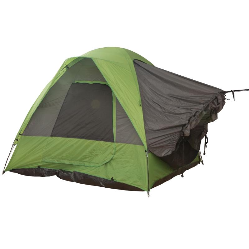 Autotent campingtent reistent zonwering voor 4-5 personen glasvezel polyester