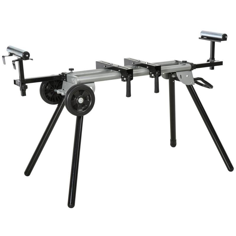 Werktafel voor verstekzagen staalverstekzaag 123,5 - 245 cm