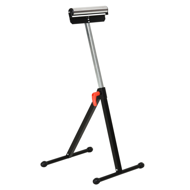 rolbok zaagbok met rol steunbok materiaalsteun instelbaar tot 90 kg metaal