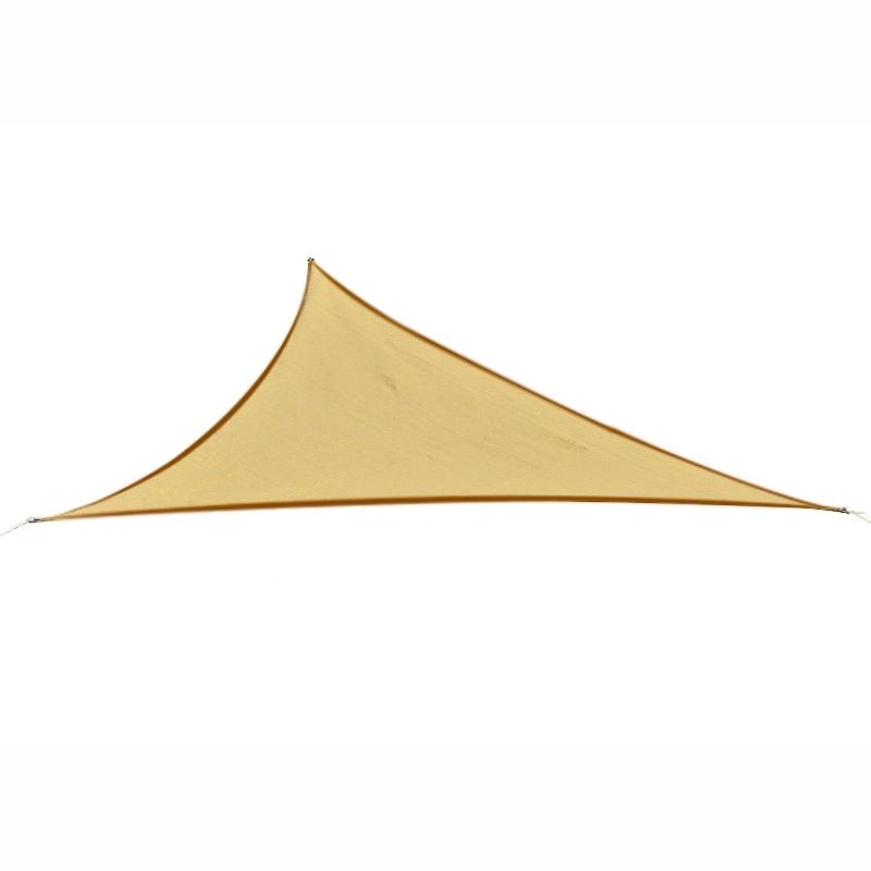 Zonnedoek bescherming tegen de zon zonnedak driehoek rechthoek vierkant beige