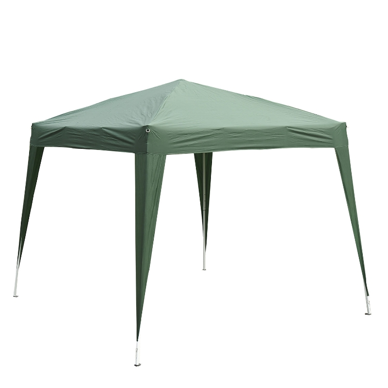 Partytent 3 x 3 m inklapbare partytent opvouwbare tent paviljoen tuintent draagbaar 2 kleuren