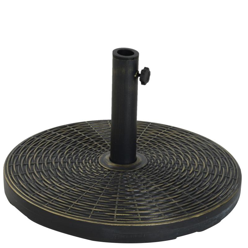 Zonneschermstandaard zonneschermvoet parasolvoet cement scherm Ø 35/ Ø 38/ Ø 48 mm