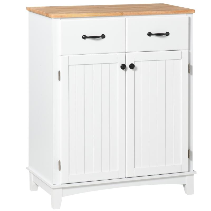 Keukenkast dressoir met 2 lades, legplank verstelbare opbergkast