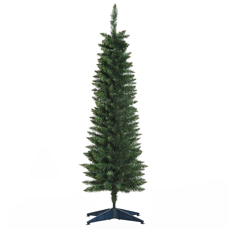 HOMCOM 1.5m Christmas Tree Artificial Pine Holiday Décor with Metal Stand