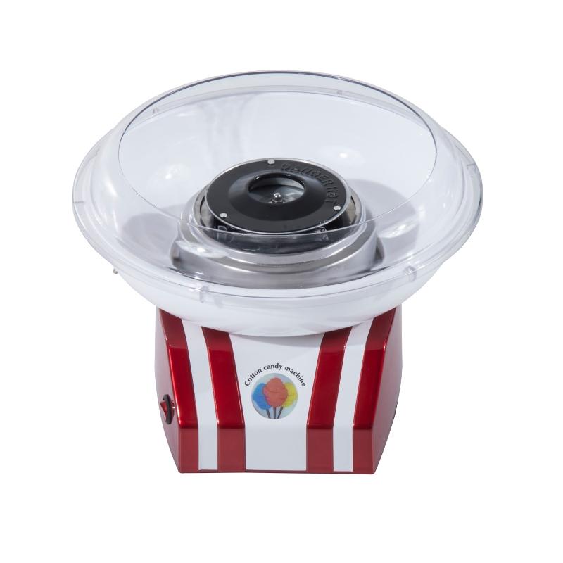 HOMCOM Candy Floss Machine, 450W-Red/White
