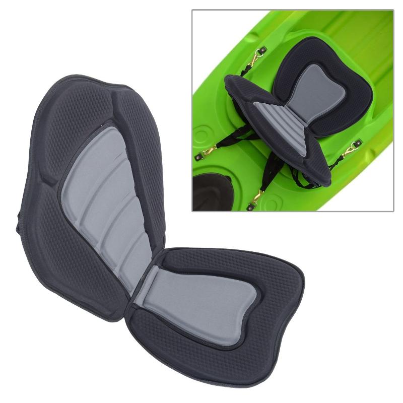 HOMCOM High Back Detachable Canoe/Kayak Seat-Black