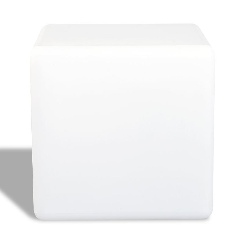 HOMCOM LED Glowing Cube Lamp