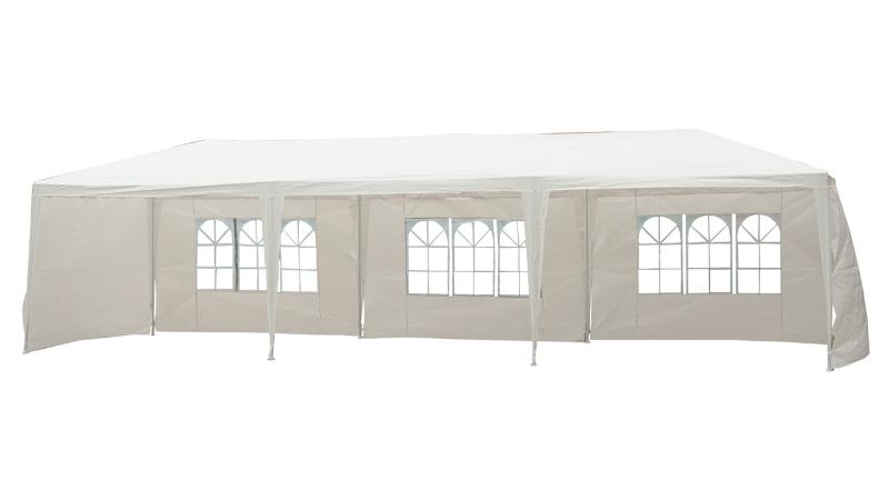 Outsunny 3x9 m Waterproof Gazebo-White