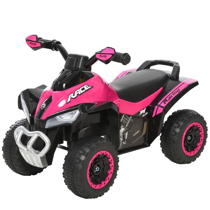Trapauto kinderloopauto kinderauto met voeten schuiven licht muziek roze