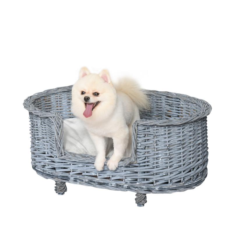 Hondenbank huisdierenbank kattenbank zachte hoes kattenbank wilg pluche