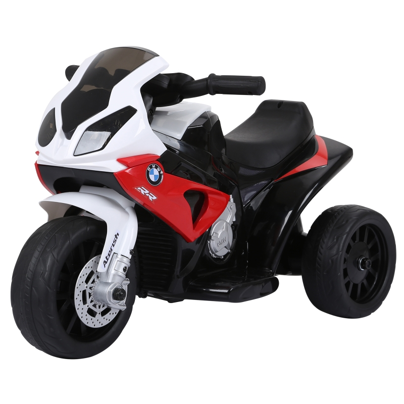 HOMCOM Electric Kids Ride on Motorcycle BMW Licensed w/ Headlights Music Play Bike 6V