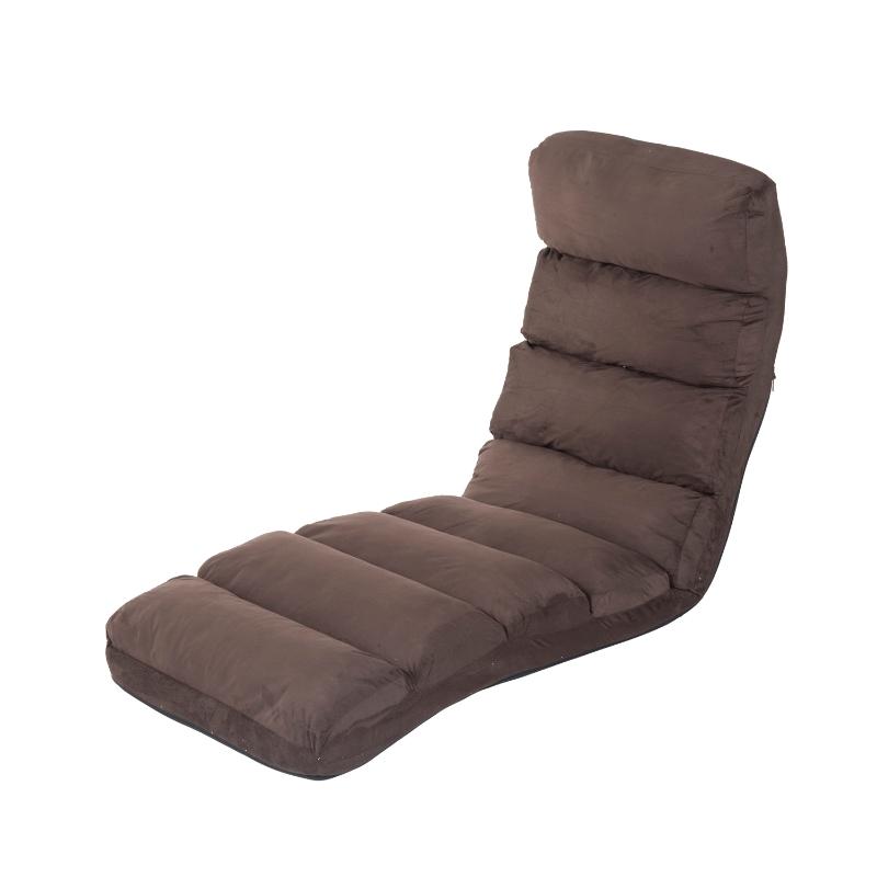 Slaapbank opvouwbare matras inklapbare matras verstelbaar 175x56cm bruin