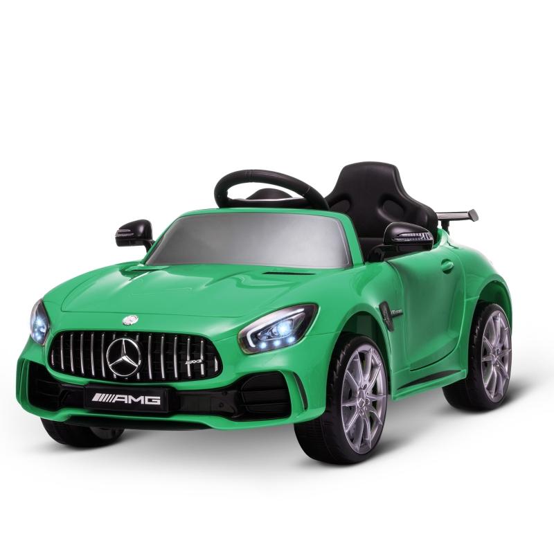 HOMCOM Benz GTR 12V Kids Electric Ride On Car Toy w/ Remote Control MP3