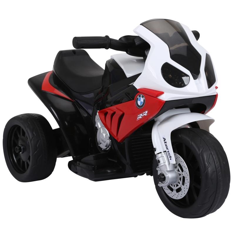 Elektrische kindermotor motorfiets driewieler kindervoertuig licentie van BMW 18-36 maanden