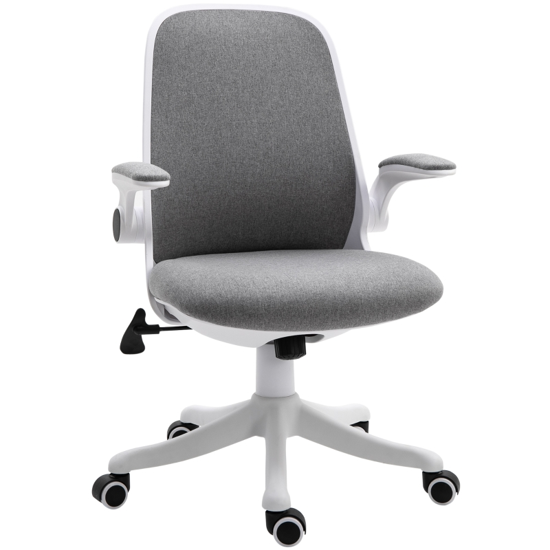 Vinsetto Nylon Mesh Cushioned Office Chair Grey