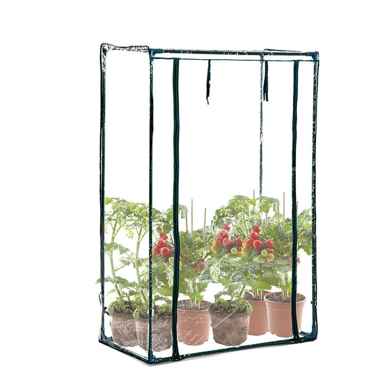Outsunny PVC Mini Outdoor Greenhouse W/ Zipper Entrance 1x0.5x1.5 m