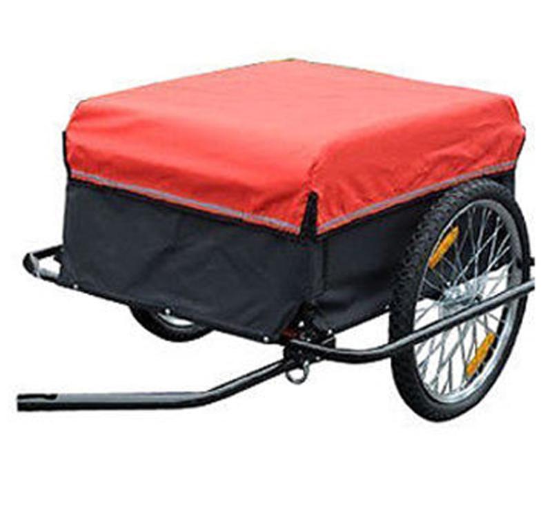 Transportaanhanger aanhangwagen fietsaanhanger aanhangwagen inklapbaar