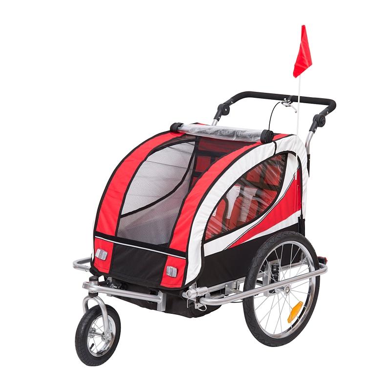 HOMCOM 2 in 1 2-Seater Child carrier Baby Stroller