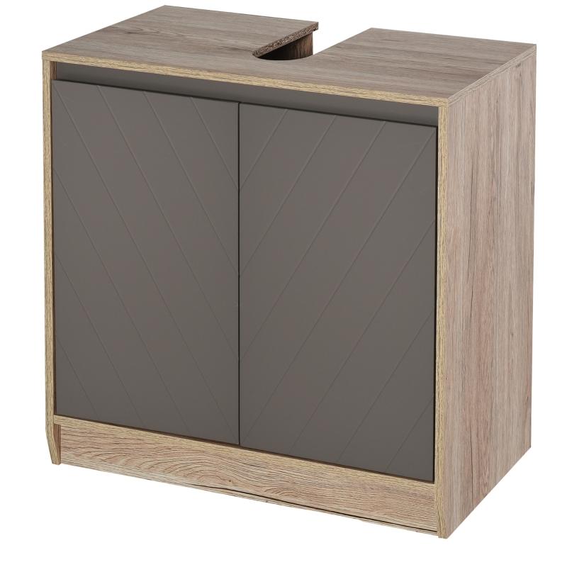 HOMCOM® massagestoel met voetensteun en verwarmingsfunctie | relaxstoel | bruin | 70 x 93 x 100 cm