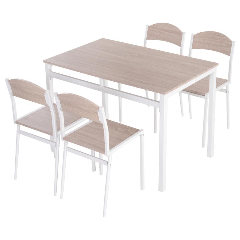 eettafelset, tafelgroep 5-delig eetset, eetkamergarnituurset, zitgroep
