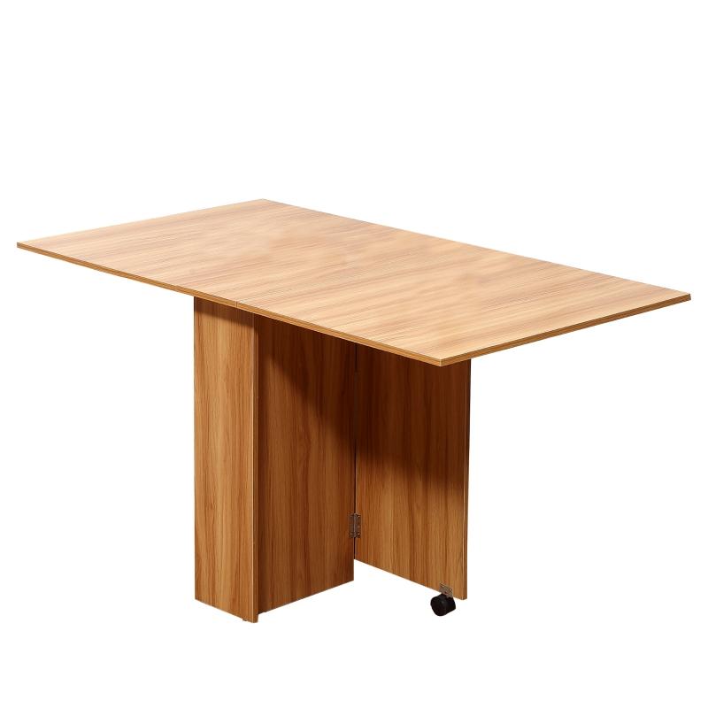 mobiele tafel klaptafel met wielen bureau bijzettafel opbergruimte