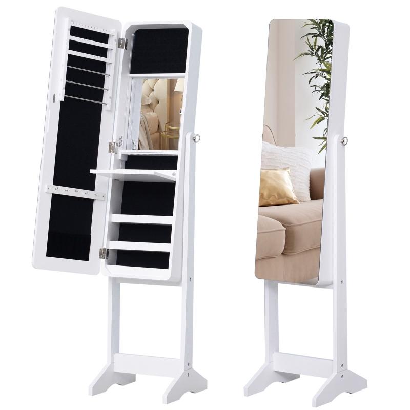 Sieradenkast led-verlichting spiegelkast spiegel binnenkant kledingspiegel